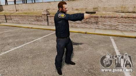Forma de LCPD para GTA 4 tercera pantalla