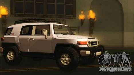 Toyota FJ Cruiser 2012 para GTA San Andreas