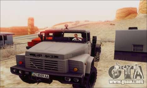 KrAZ 260v para GTA San Andreas left