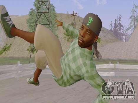 El pandillero de Grove Street de GTA 5 para GTA San Andreas séptima pantalla