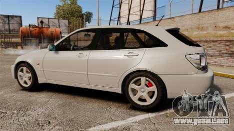 Toyota Altezza Gita para GTA 4 left
