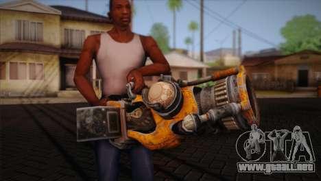 Escopeta de Bulletstorm para GTA San Andreas tercera pantalla