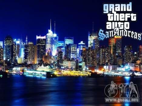 Loadscreens New-York para GTA San Andreas novena de pantalla