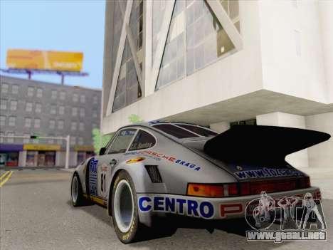 Porsche 911 RSR 3.3 skinpack 3 para GTA San Andreas left