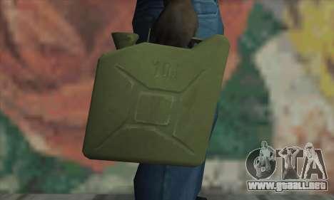 Frasco para GTA San Andreas tercera pantalla
