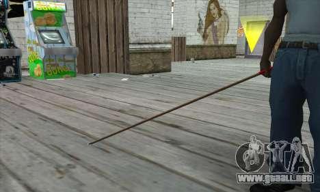 New Pool Cue para GTA San Andreas tercera pantalla