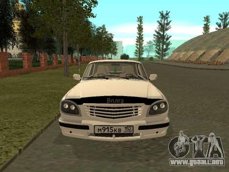 Volga GAZ 31105 para GTA San Andreas left