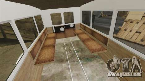 Gaz-AA ambulancia para GTA 4 vista interior