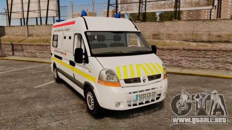Renault Master French Red Cross [ELS] para GTA 4