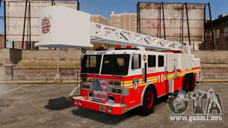 Fire Ladder v1.3 [ELS] para GTA 4