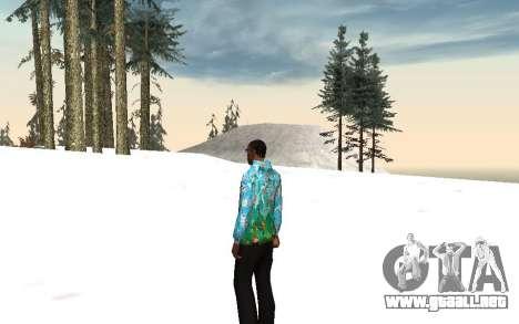 Chaqueta de Sochi 2014 para GTA San Andreas segunda pantalla