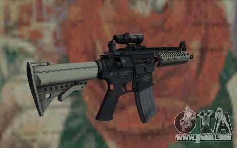 VLTOR SBR 5.56 ACOG Sight para GTA San Andreas segunda pantalla