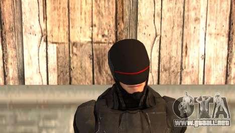 Robocop 2014 Movie Version para GTA San Andreas tercera pantalla