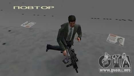 Custom MP5 para GTA Vice City sucesivamente de pantalla