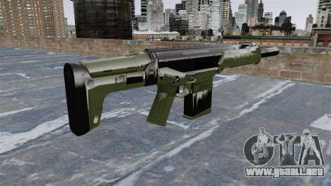 Rifle de asalto de Crysis 2 para GTA 4 segundos de pantalla