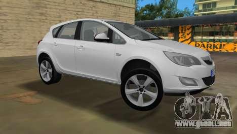 Opel Astra 2011 para GTA Vice City left