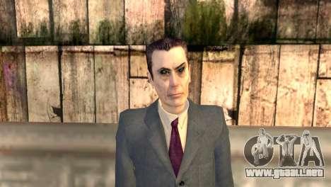 JI-hombre de Half-Life 2 para GTA San Andreas tercera pantalla