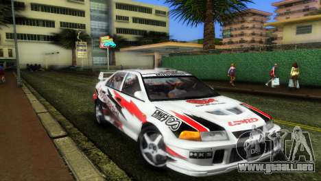 Mitsubishi Lancer Rally para GTA Vice City