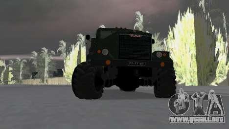 KrAZ 257 para GTA Vice City visión correcta