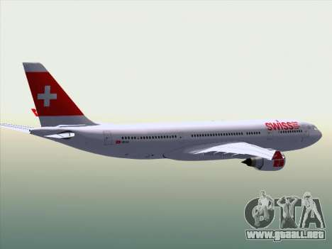 Airbus A330-223 Swiss International Airlines para GTA San Andreas interior