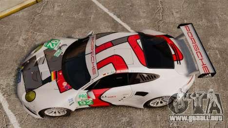 Porsche 911 (991) RSR para GTA 4 visión correcta