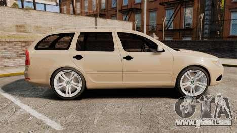 Skoda Octavia RS Stock para GTA 4 left