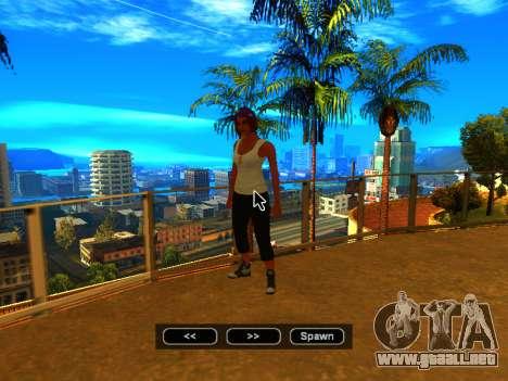 Pak pieles de las niñas para GTA San Andreas décimo de pantalla