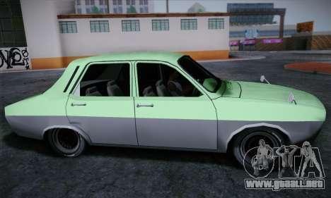 Dacia 1300 Retro Art para GTA San Andreas vista posterior izquierda