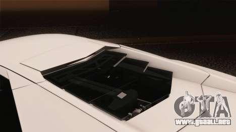 Lamborghini Reventon 2008 SLOD para la vista superior GTA San Andreas