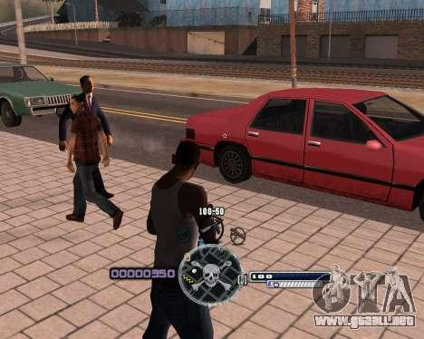 C-HUD by Niko para GTA San Andreas segunda pantalla