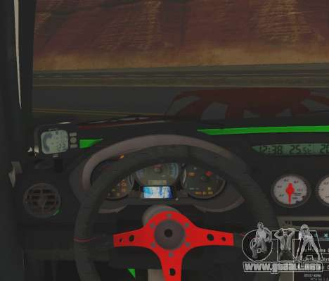 Subaru Forester JDM para GTA San Andreas vista hacia atrás
