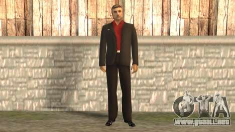 Jefe de la mafia para GTA San Andreas