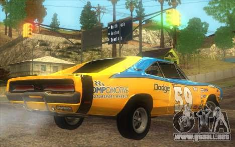 Dodge Charger RT 1969 para GTA San Andreas left