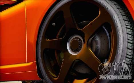 RUF RT12R para las ruedas de GTA San Andreas