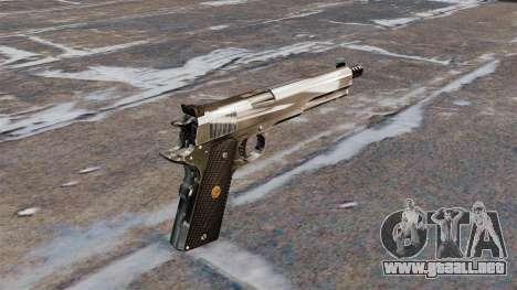 La pistola semiautomática AMT Hardballer para GTA 4 segundos de pantalla