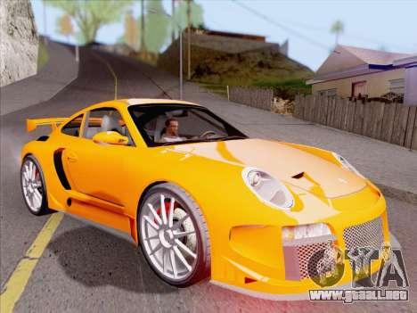 Porsche Carrera S para las ruedas de GTA San Andreas
