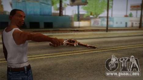 Colt Peacemaker (oxidado) para GTA San Andreas segunda pantalla