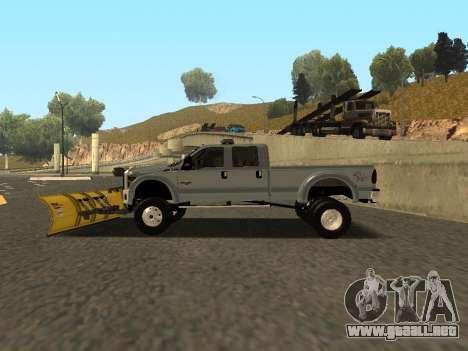 Ford F-450 para visión interna GTA San Andreas