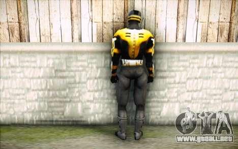 Cyrax para GTA San Andreas segunda pantalla
