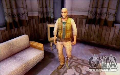 Eli de Half Life 2 para GTA San Andreas segunda pantalla