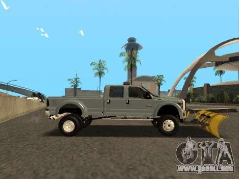 Ford F-450 para la visión correcta GTA San Andreas