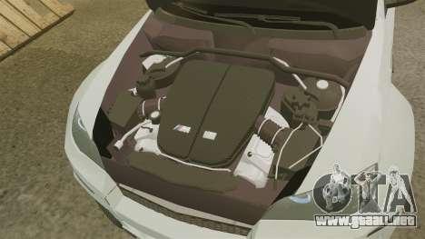 BMW X6 M HAMANN 2012 para GTA 4 vista interior