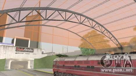Estación de ferrocarriles en San Fierro para GTA San Andreas tercera pantalla
