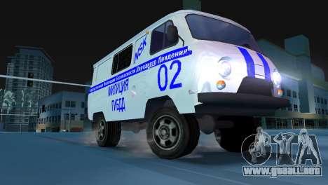 STSI UAZ-3741 para GTA Vice City