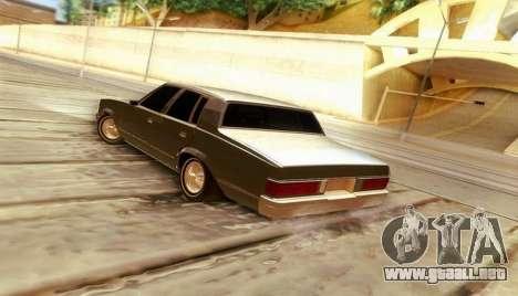 Chevrolet Malibu 1981 para GTA San Andreas left