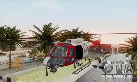 GTA V Ambulacia Maverick para la vista superior GTA San Andreas
