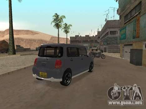 Suzuki Alto Lapin para GTA San Andreas vista hacia atrás