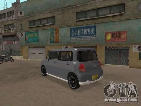 Suzuki Alto Lapin para visión interna GTA San Andreas