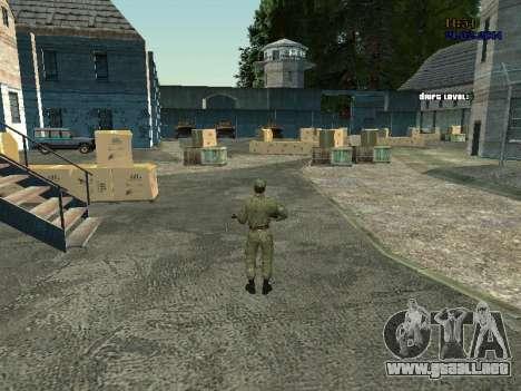 Combate en el aire para GTA San Andreas tercera pantalla