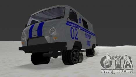 STSI UAZ-3741 para GTA Vice City vista lateral izquierdo